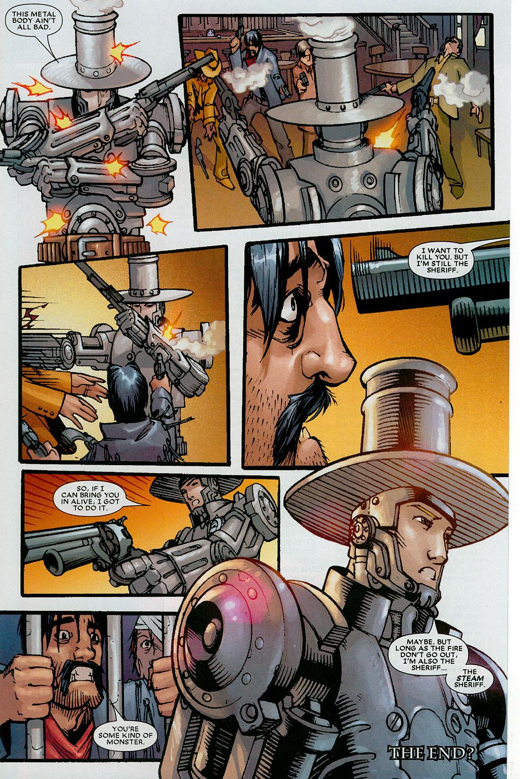 Read online Amazing Fantasy (2004) comic -  Issue #20 - 31