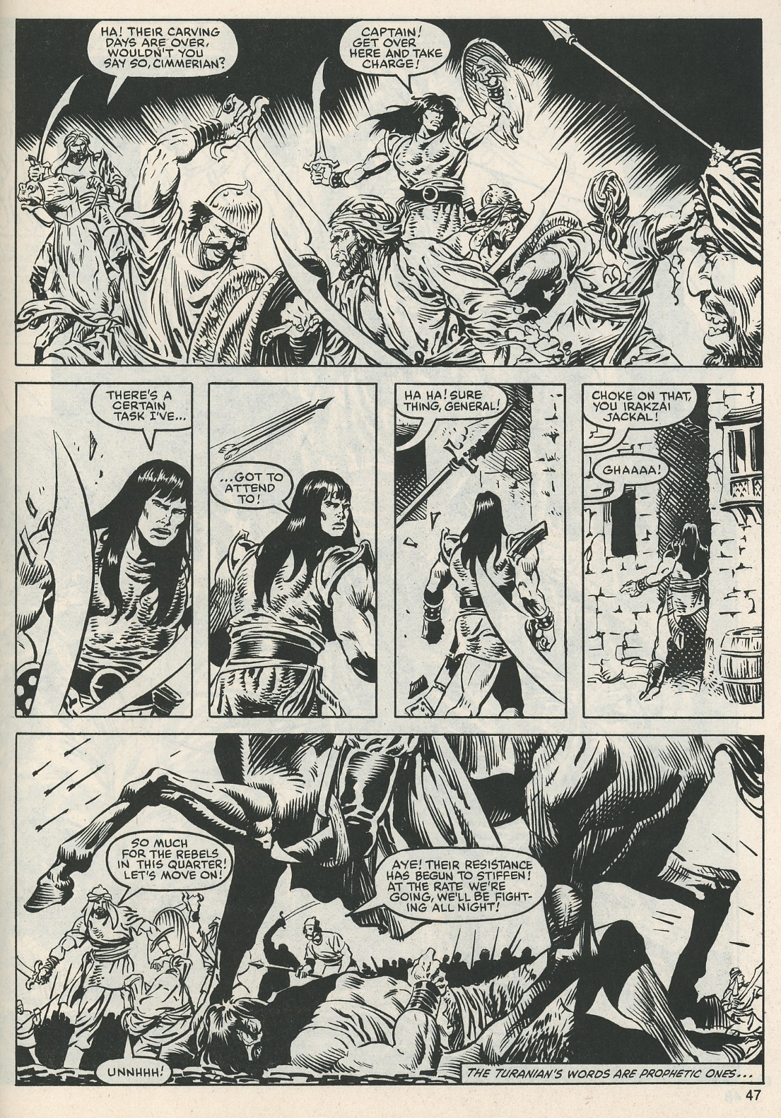 The Savage Sword Of Conan Issue #112 #113 - English 48
