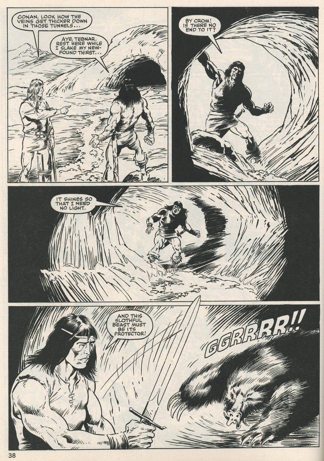 The Savage Sword Of Conan Issue #115 #116 - English 38