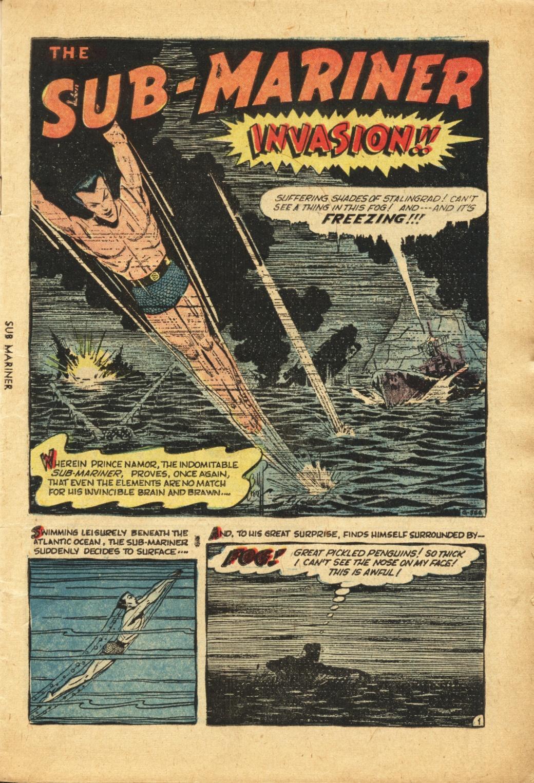 Sub-Mariner Comics #42 #42 - English 2