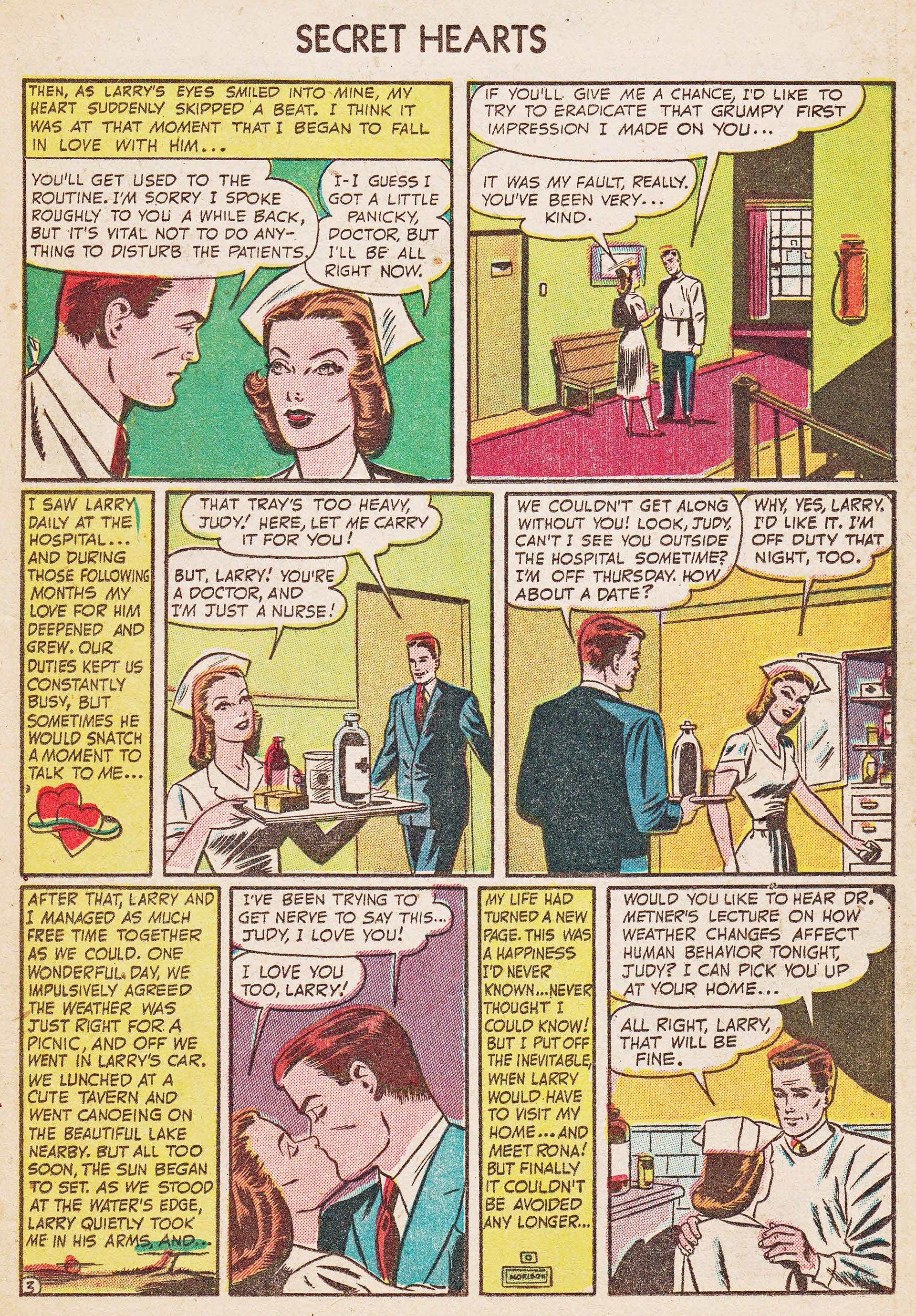 Read online Secret Hearts comic -  Issue #7 - 19