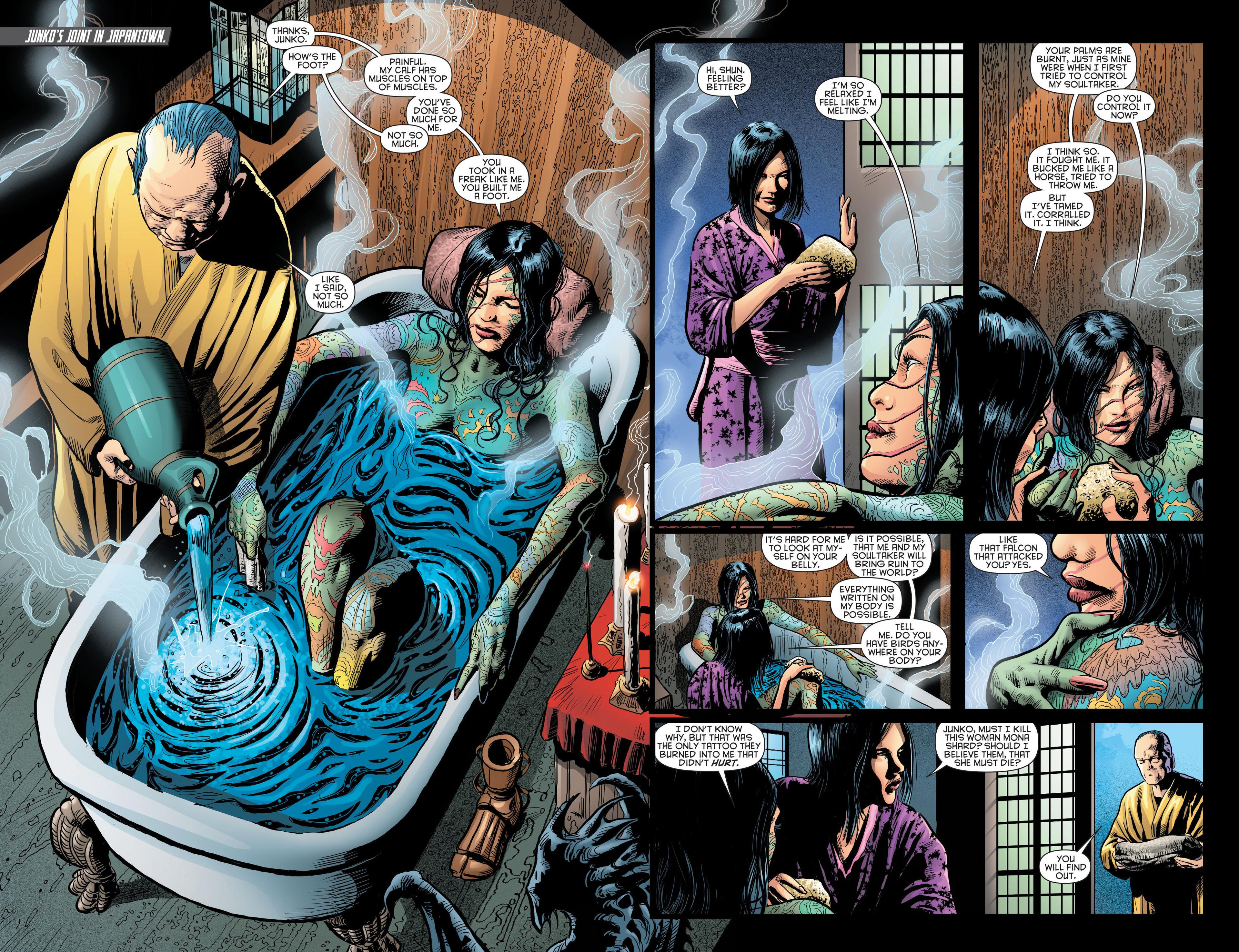 Read online Katana comic -  Issue #8 - 19