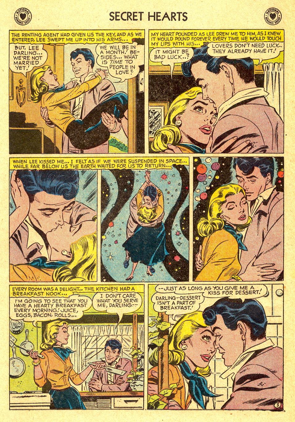 Read online Secret Hearts comic -  Issue #45 - 12