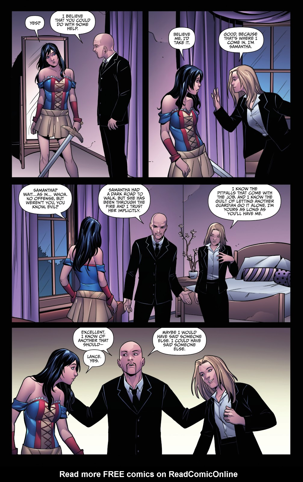 Grimm Fairy Tales (2005) Annual 1 #3 - English 30