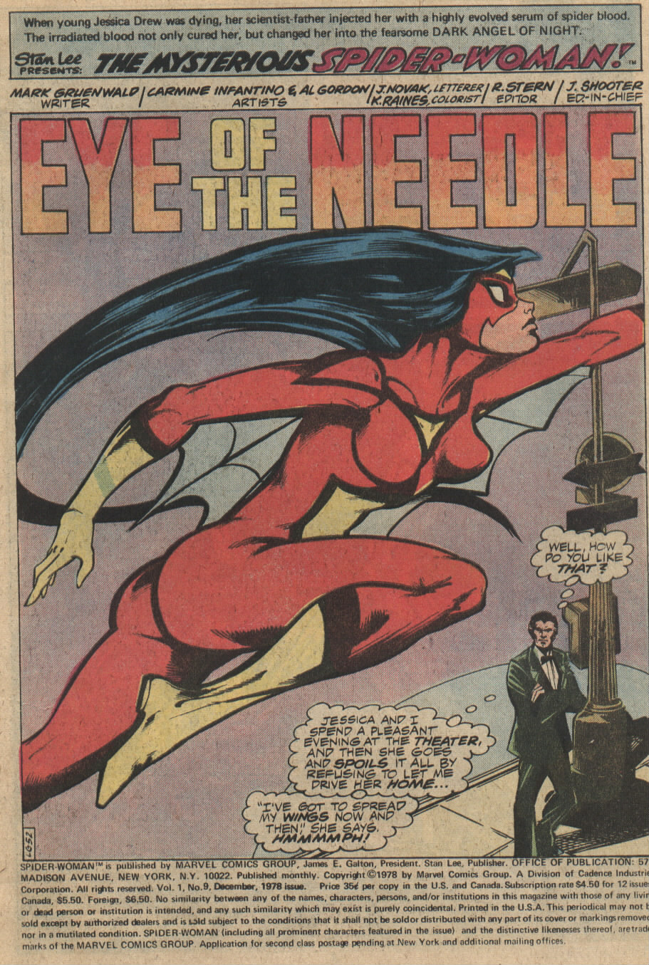 Spider-Woman (1978) Issue #9 #9 - English 2