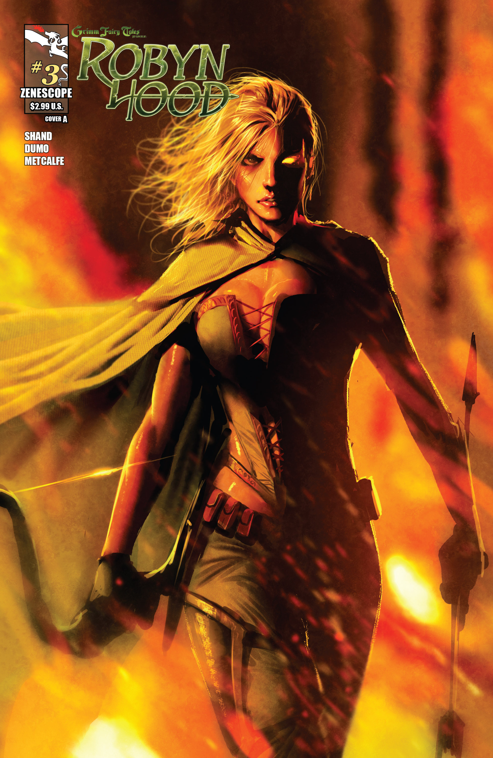 Read online Grimm Fairy Tales presents Robyn Hood (2012) comic -  Issue #3 - 1