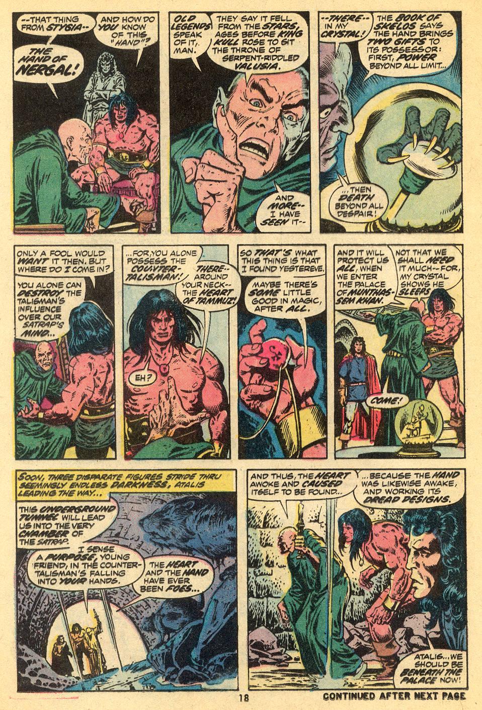 Conan the Barbarian (1970) Issue #30 #42 - English 14