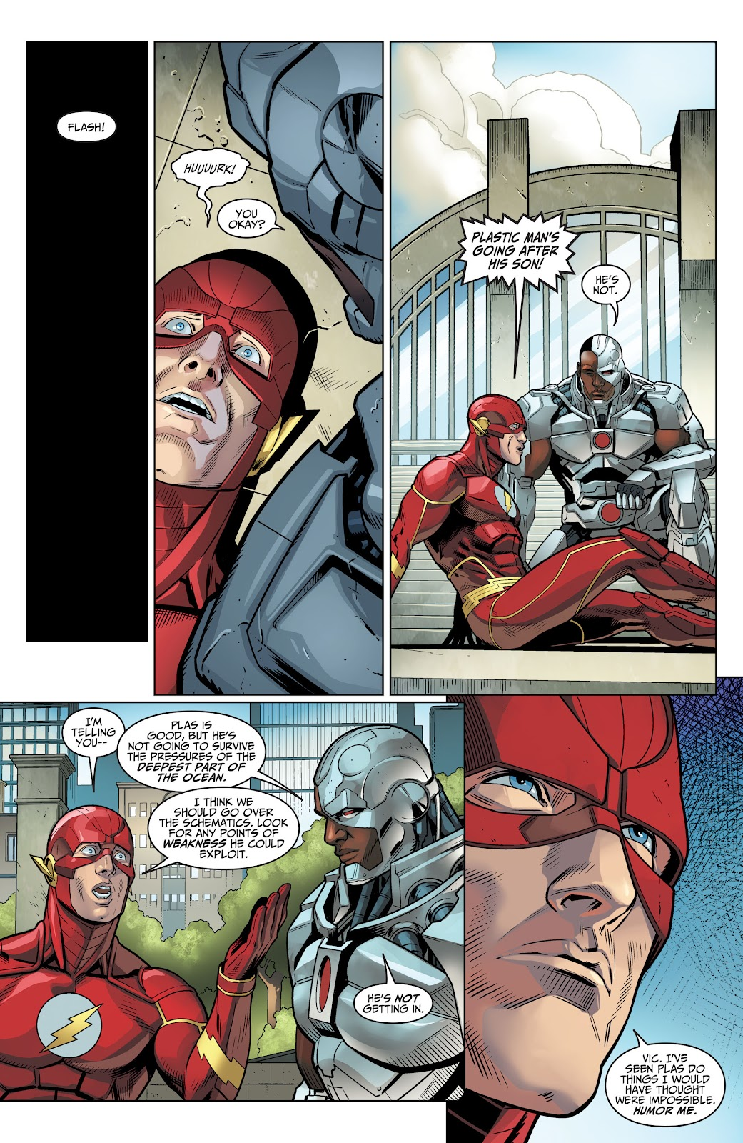 Injustice: Gods Among Us Year Four _Annual 1 #1 - English 16