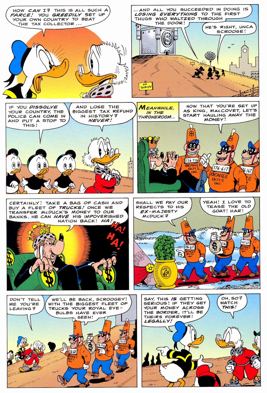 Uncle Scrooge (1953) Issue #331 #331 - English 23