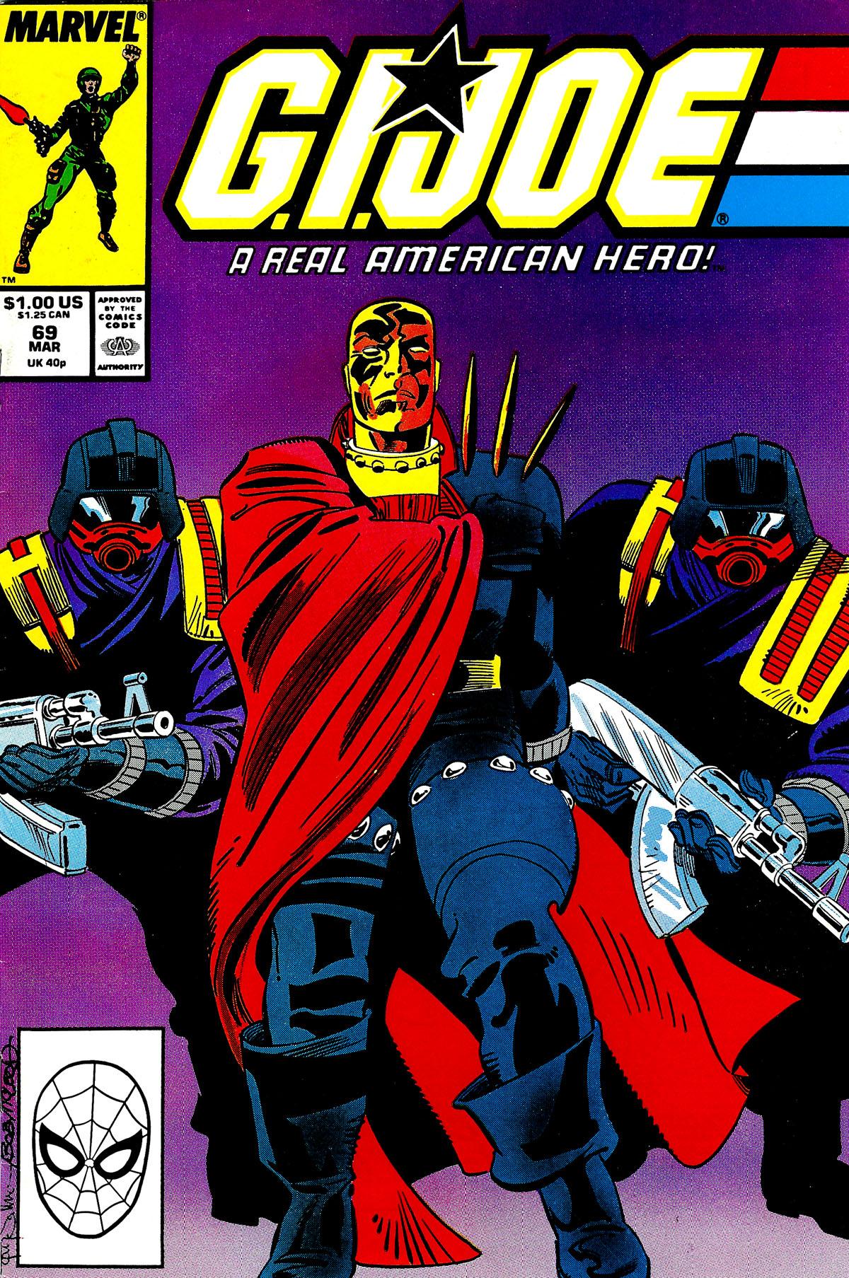 G.I. Joe: A Real American Hero 69 Page 1