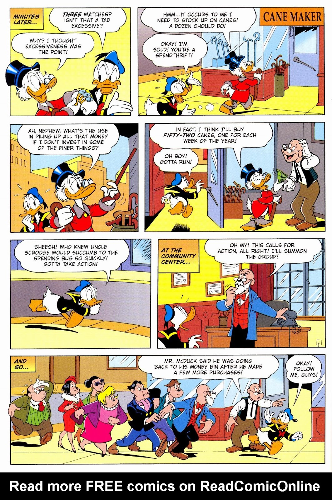 Uncle Scrooge (1953) Issue #331 #331 - English 64