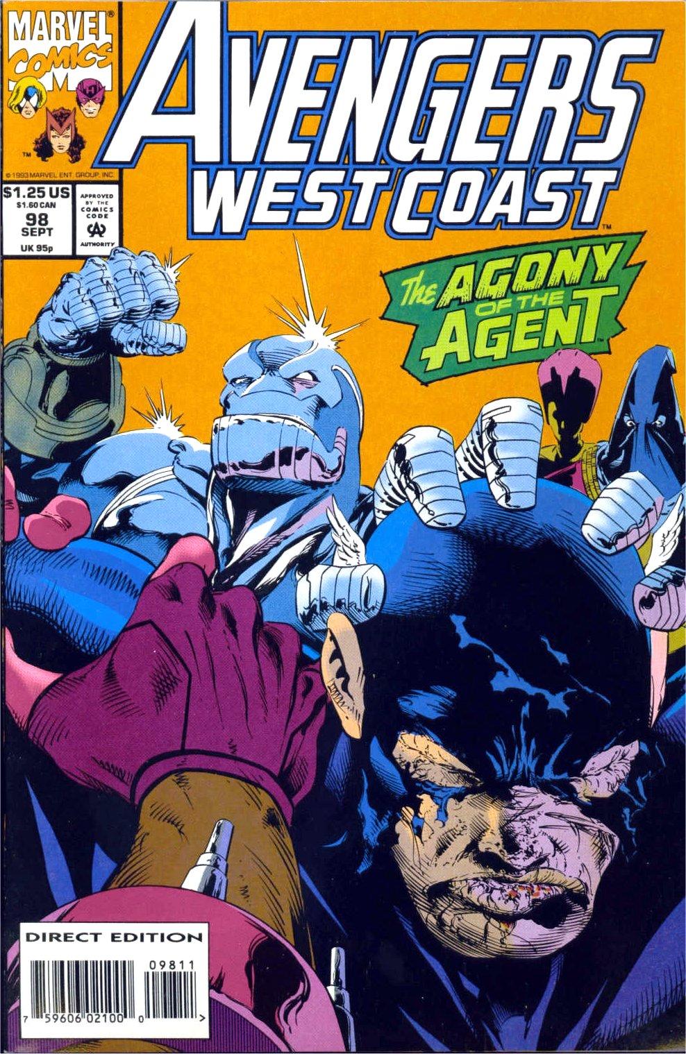 Avengers West Coast (1989) 98 Page 1