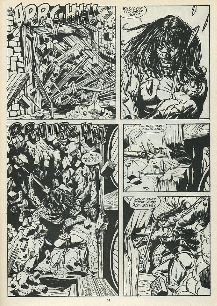 The Savage Sword Of Conan Issue #185 #186 - English 35