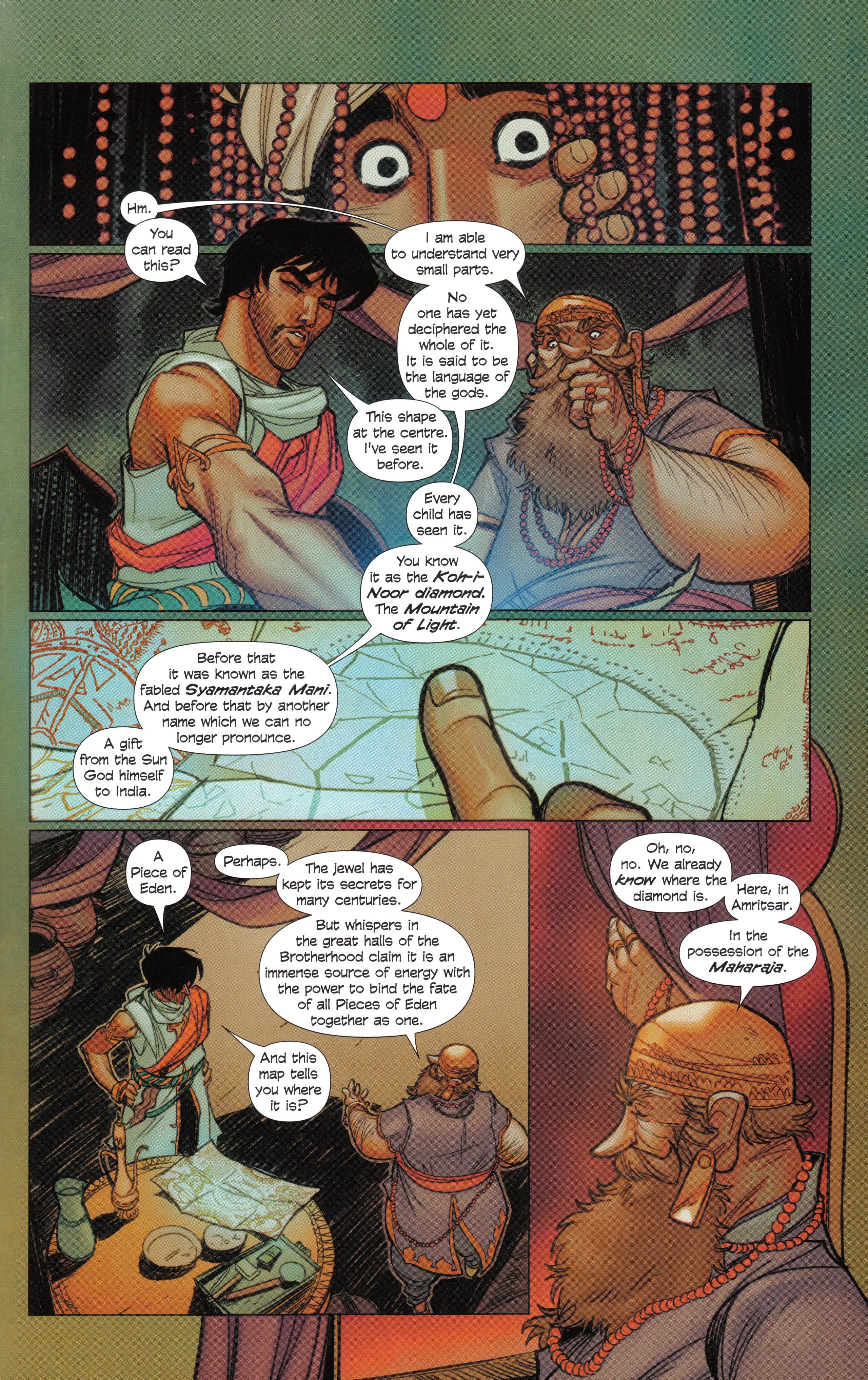 Read online Assassin's Creed Brahman comic -  Issue #Assassin's Creed Brahman Full - 31