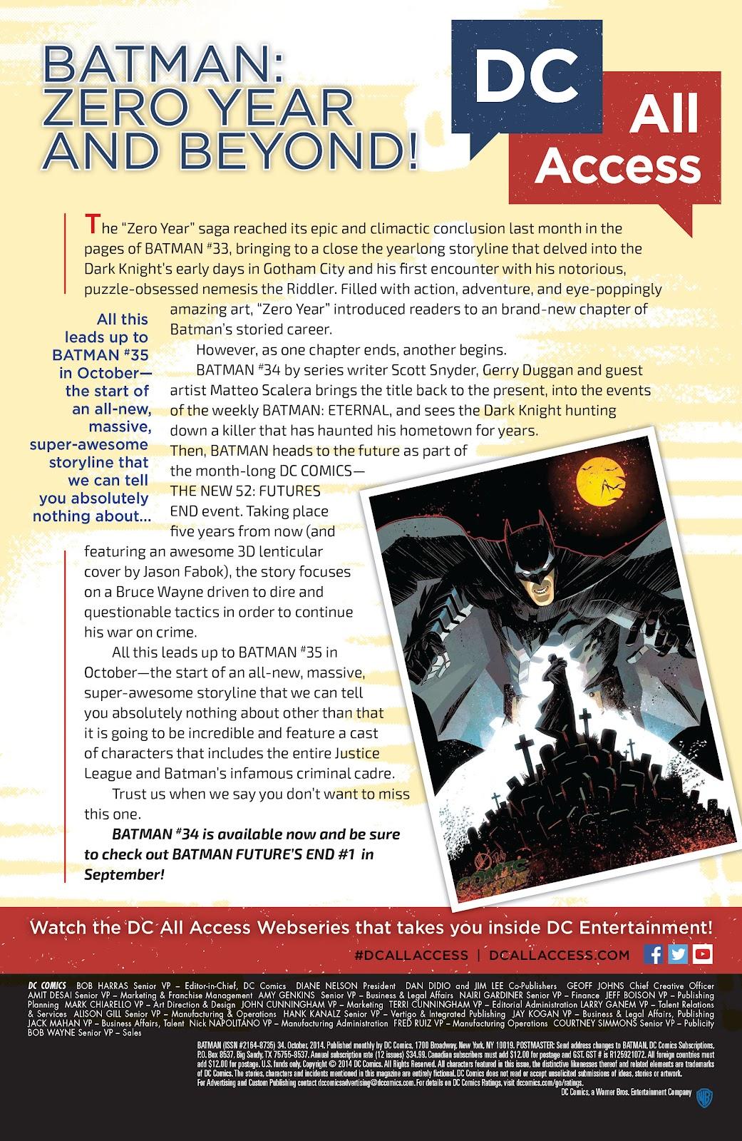 Batman (2011) Issue #34 #53 - English 24