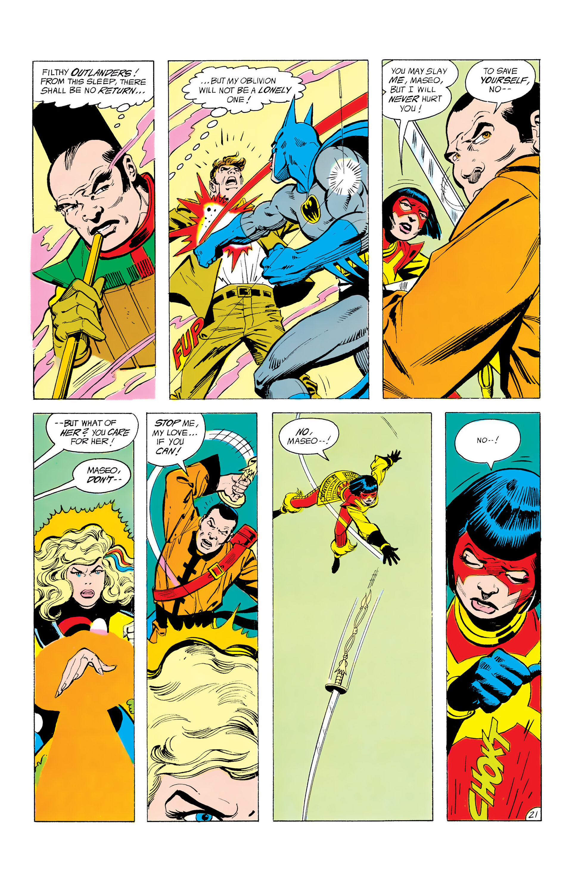 Batman and the Outsiders (1983) 12 Page 21