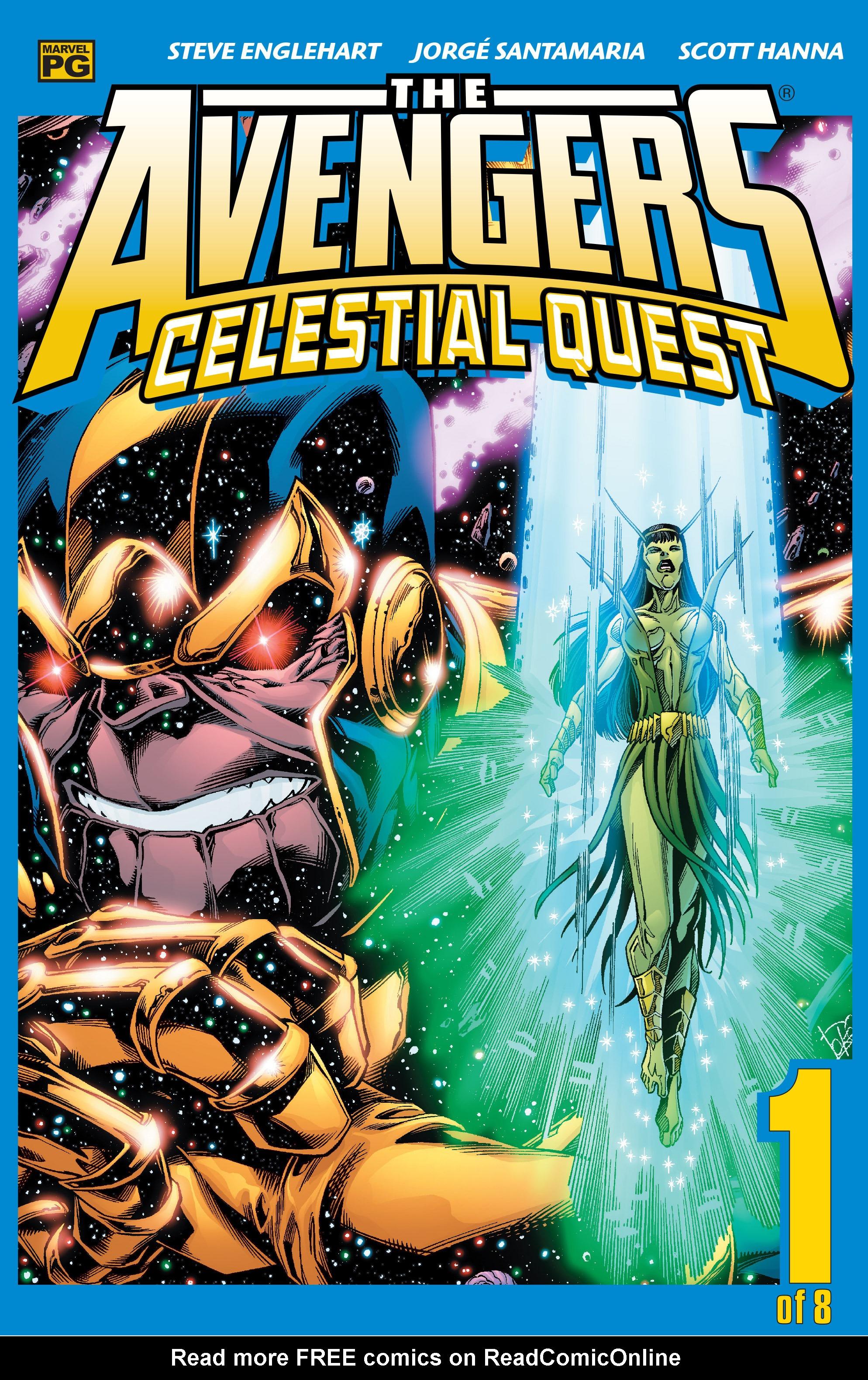 Avengers: Celestial Quest 1 Page 1
