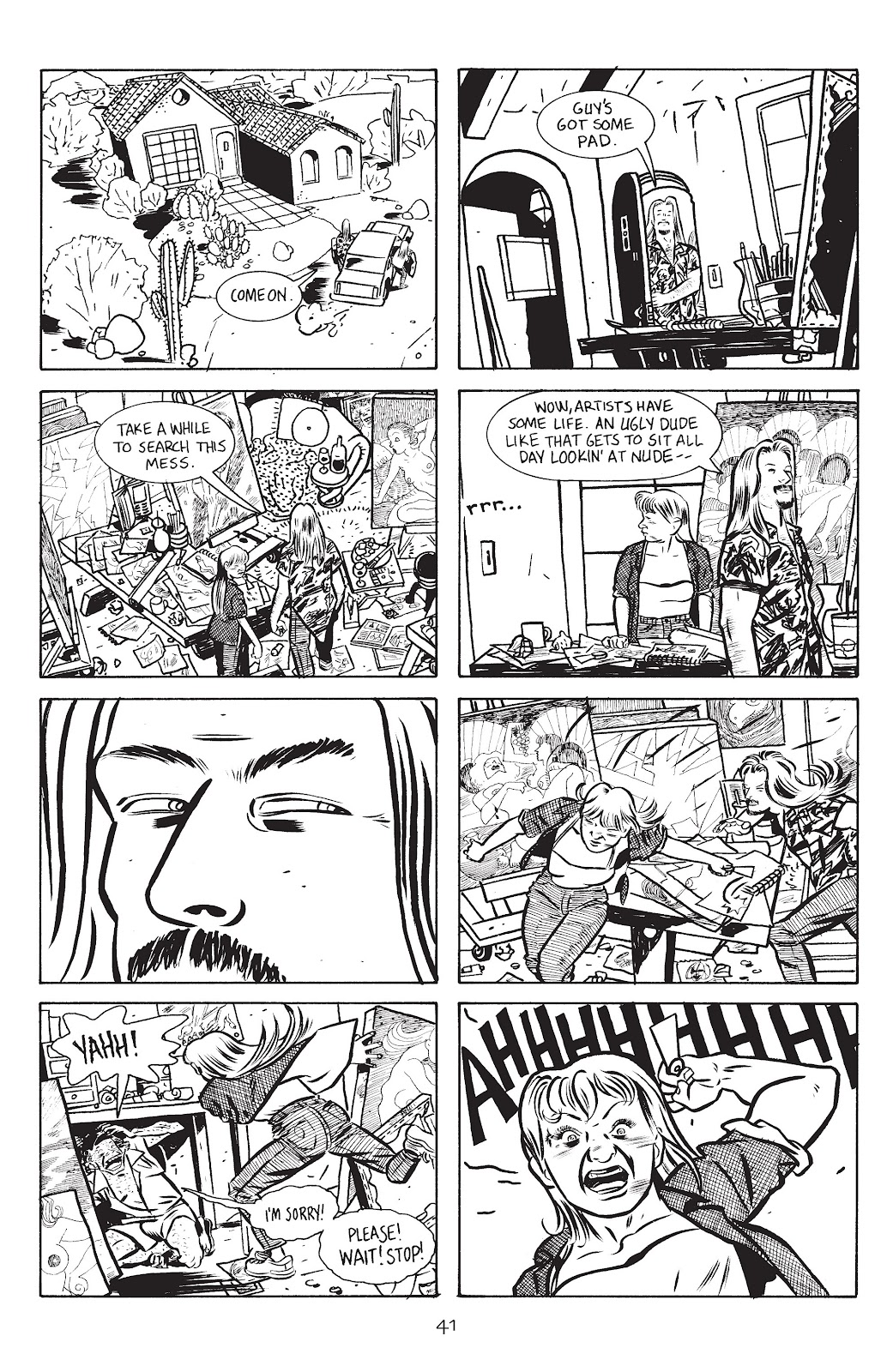 Stray Bullets Issue #14 #14 - English 43