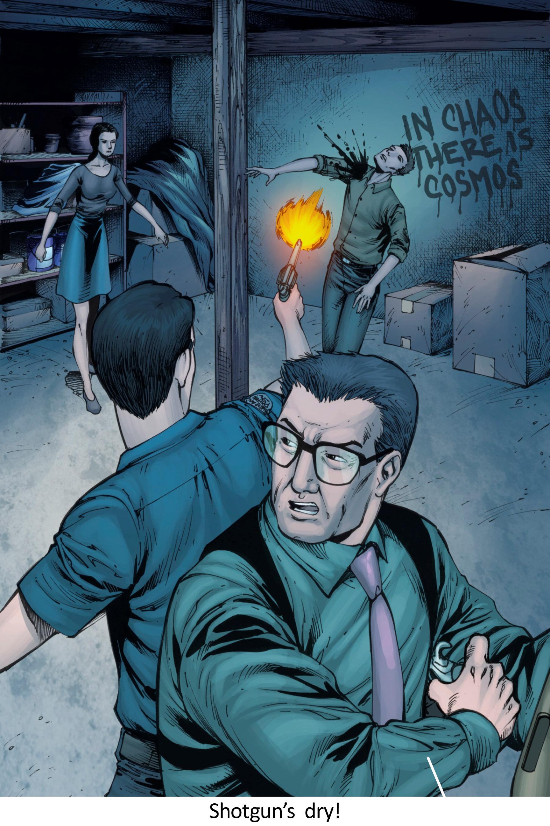 Read online Z-Men comic -  Issue #3 - 85