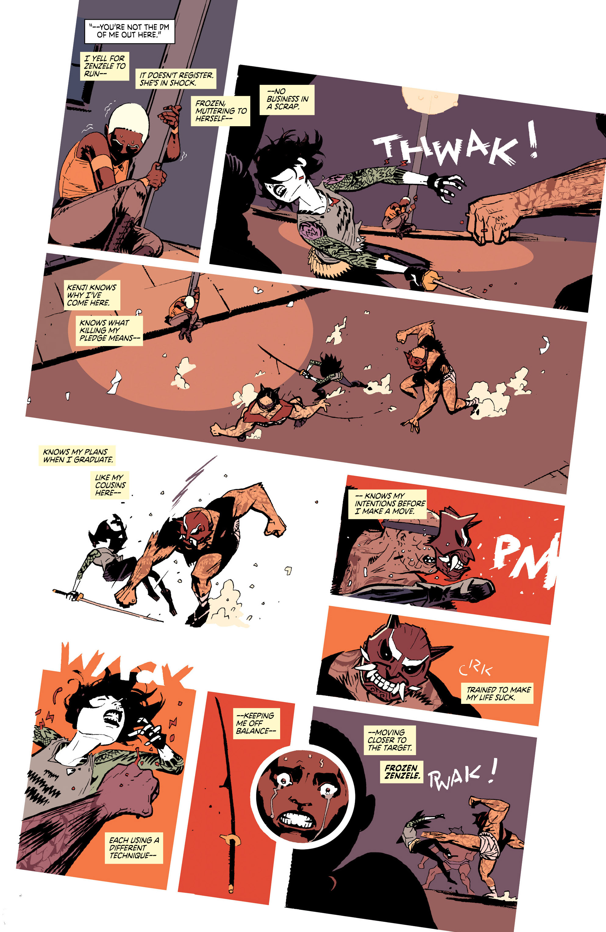 Read online Deadly Class comic -  Issue #25 - 13