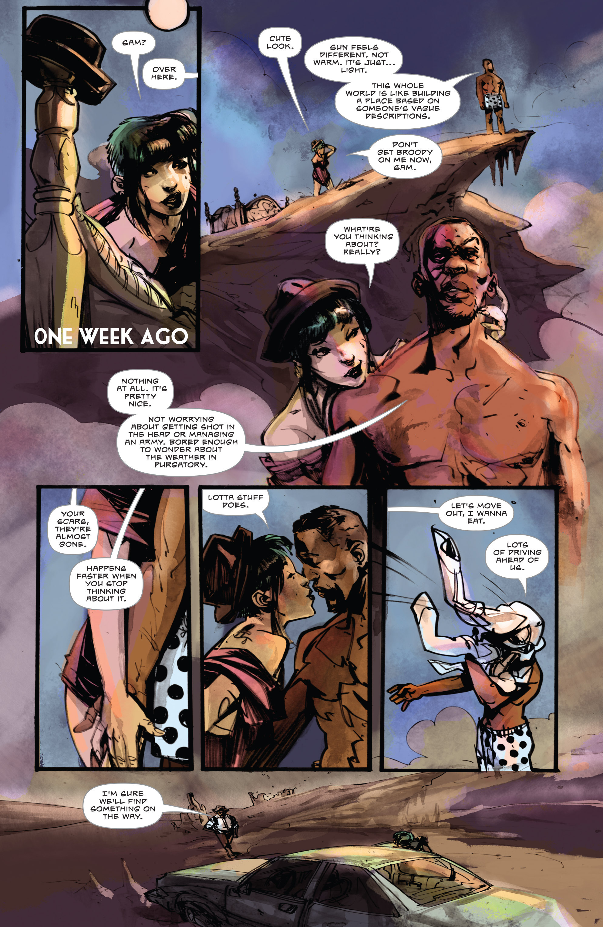 Read online Dead Letters comic -  Issue #11 - 3