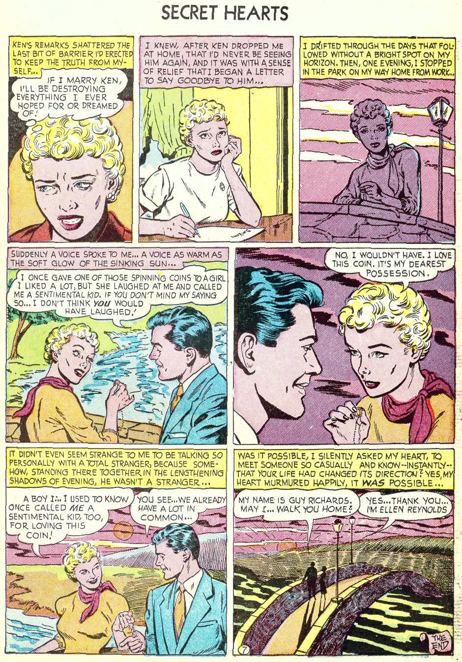 Read online Secret Hearts comic -  Issue #22 - 15