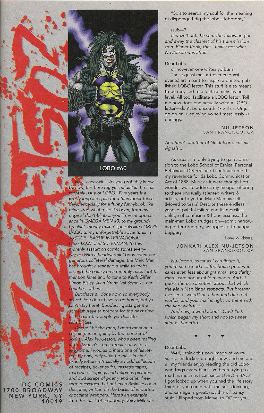 Lobo (1993) Issue #64 #69 - English 24