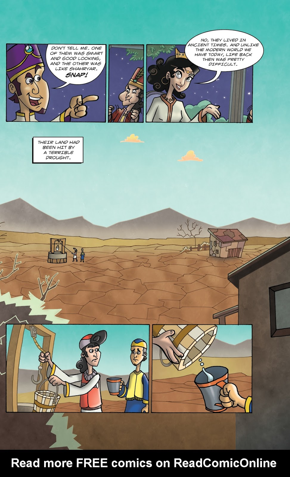 1001 Nights Issue #10 Page 7