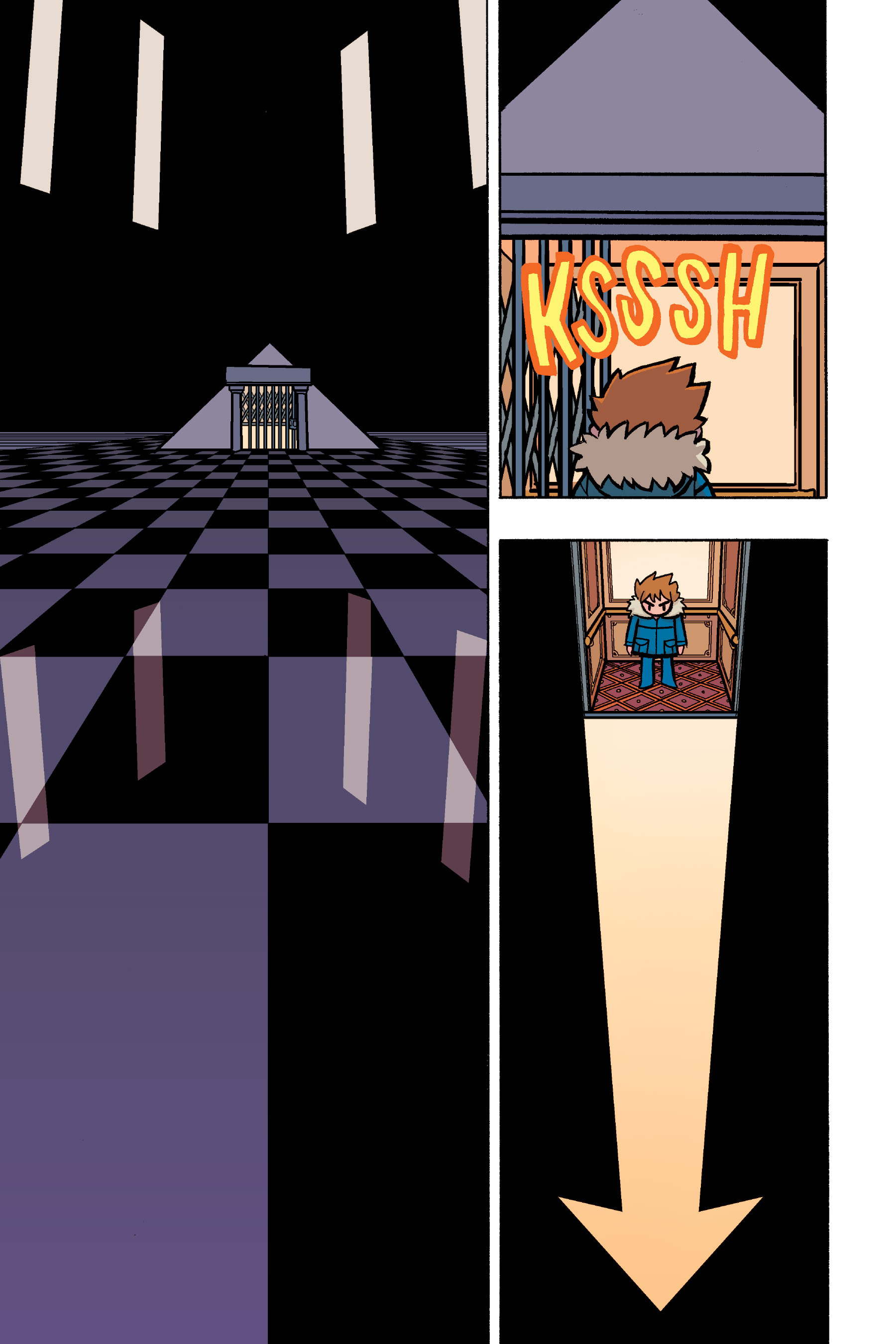 Read online Scott Pilgrim comic -  Issue #6 - 98