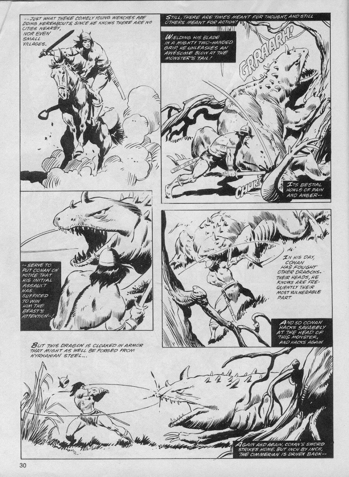 The Savage Sword Of Conan Issue #61 #62 - English 30