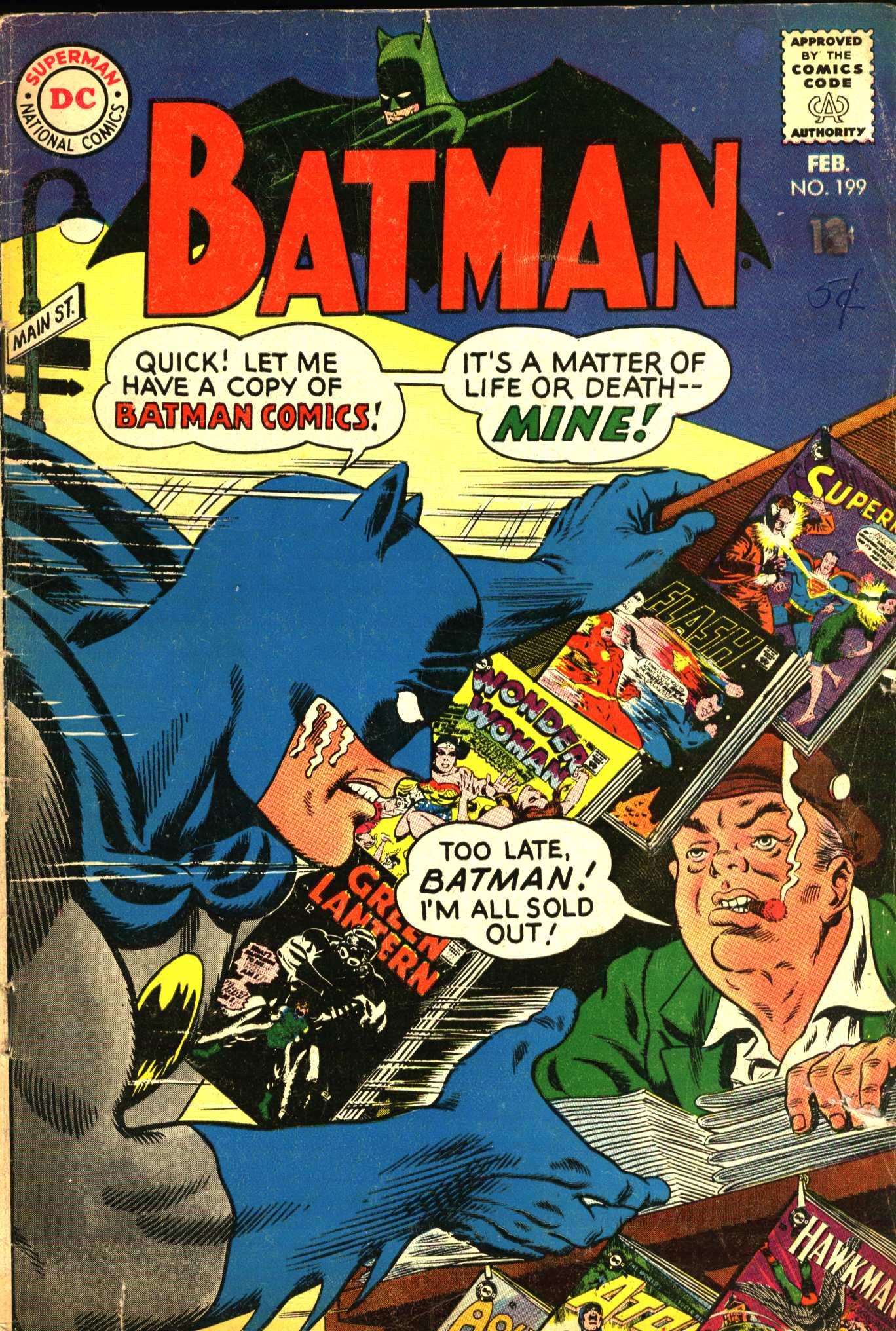 Batman (1940) 199 Page 1
