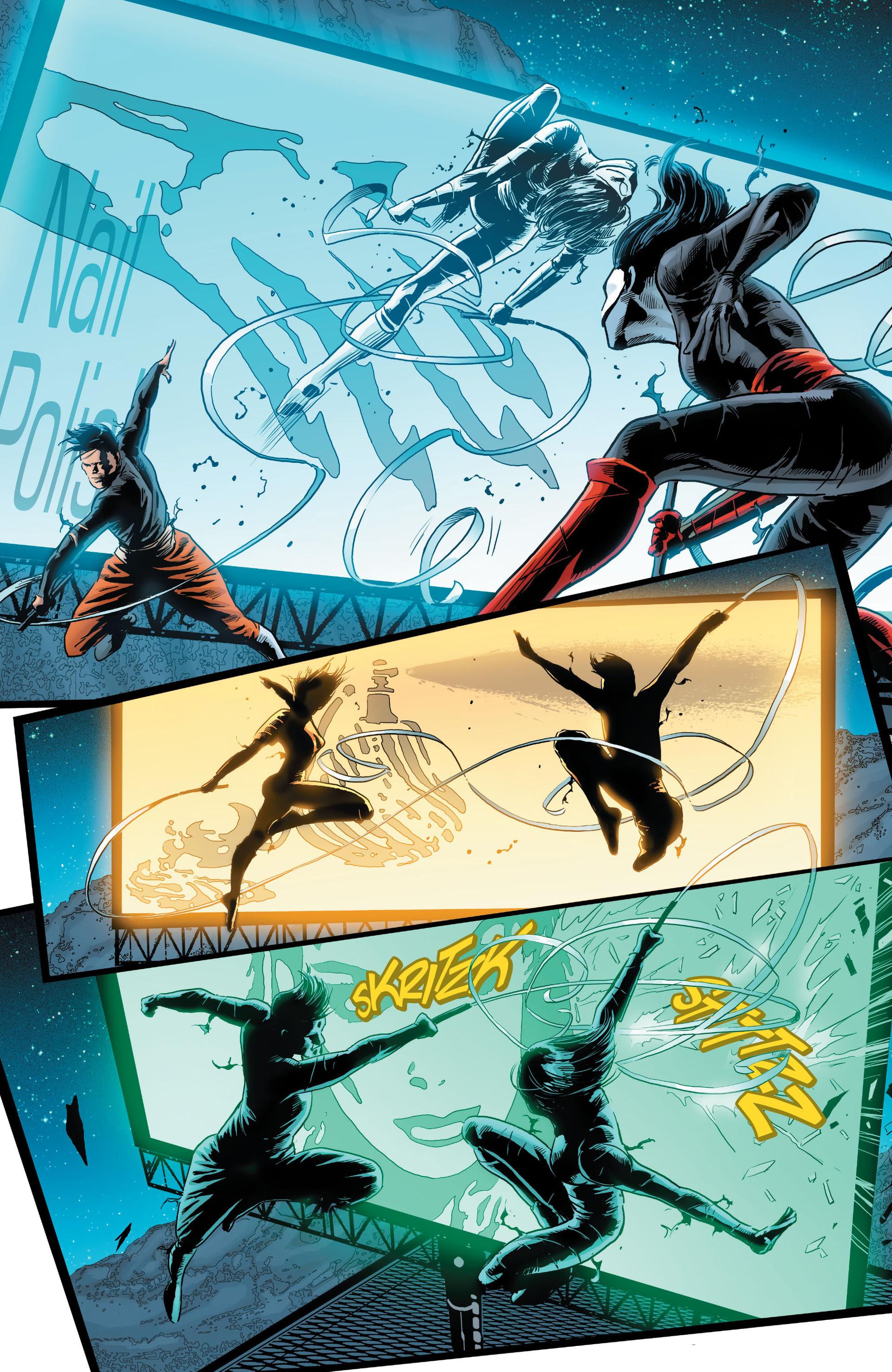 Read online Katana comic -  Issue #8 - 9