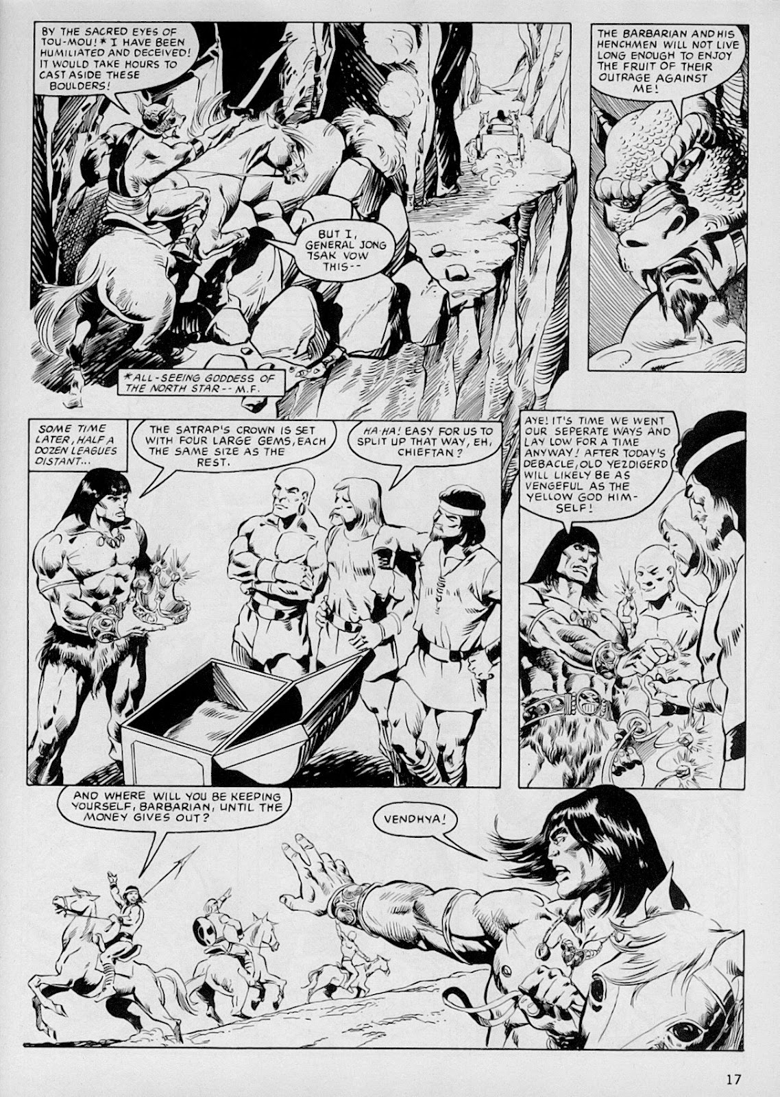 The Savage Sword Of Conan Issue #103 #104 - English 16