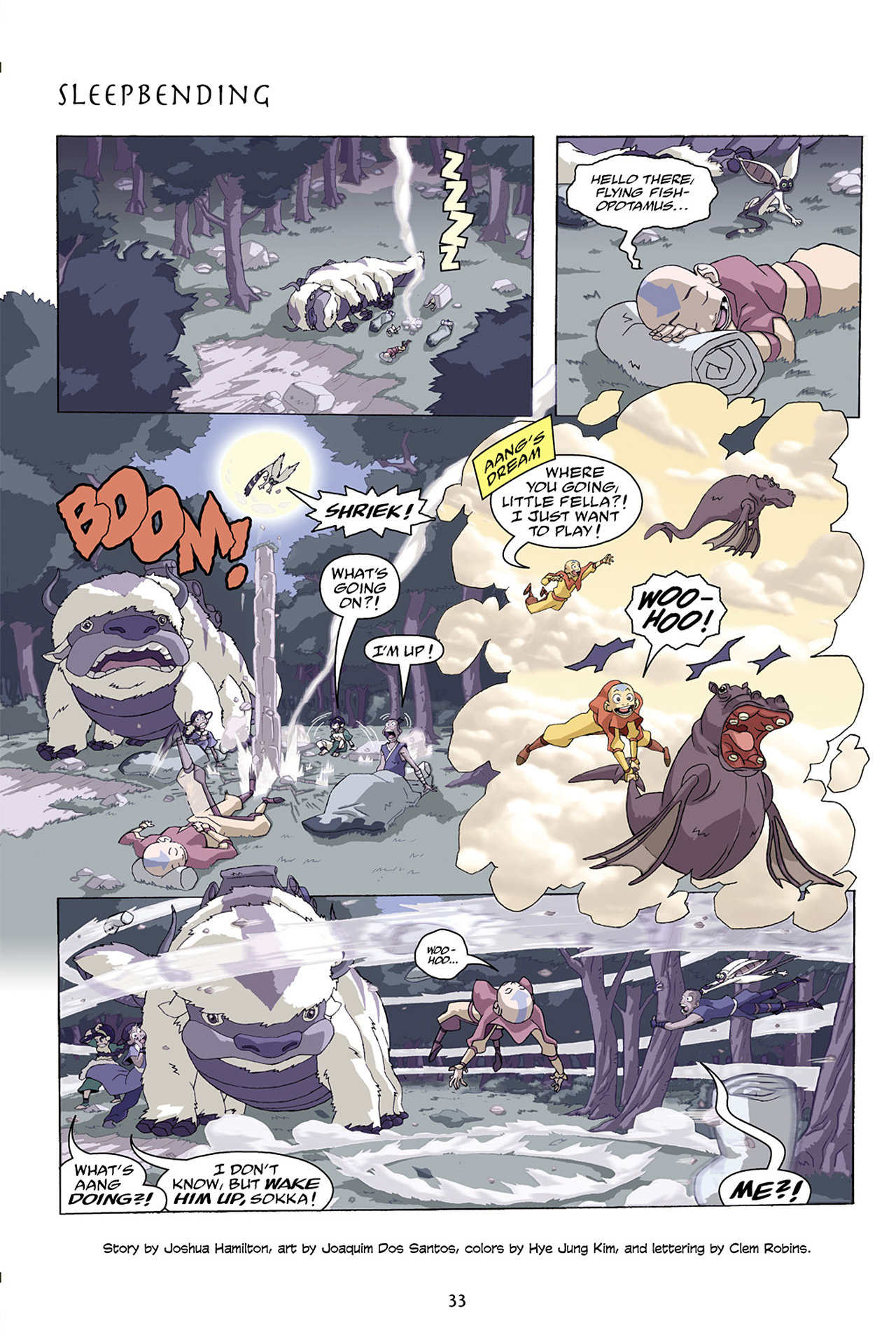 Nickelodeon Avatar: The Last Airbender - The Lost Adventures chap full pic 34