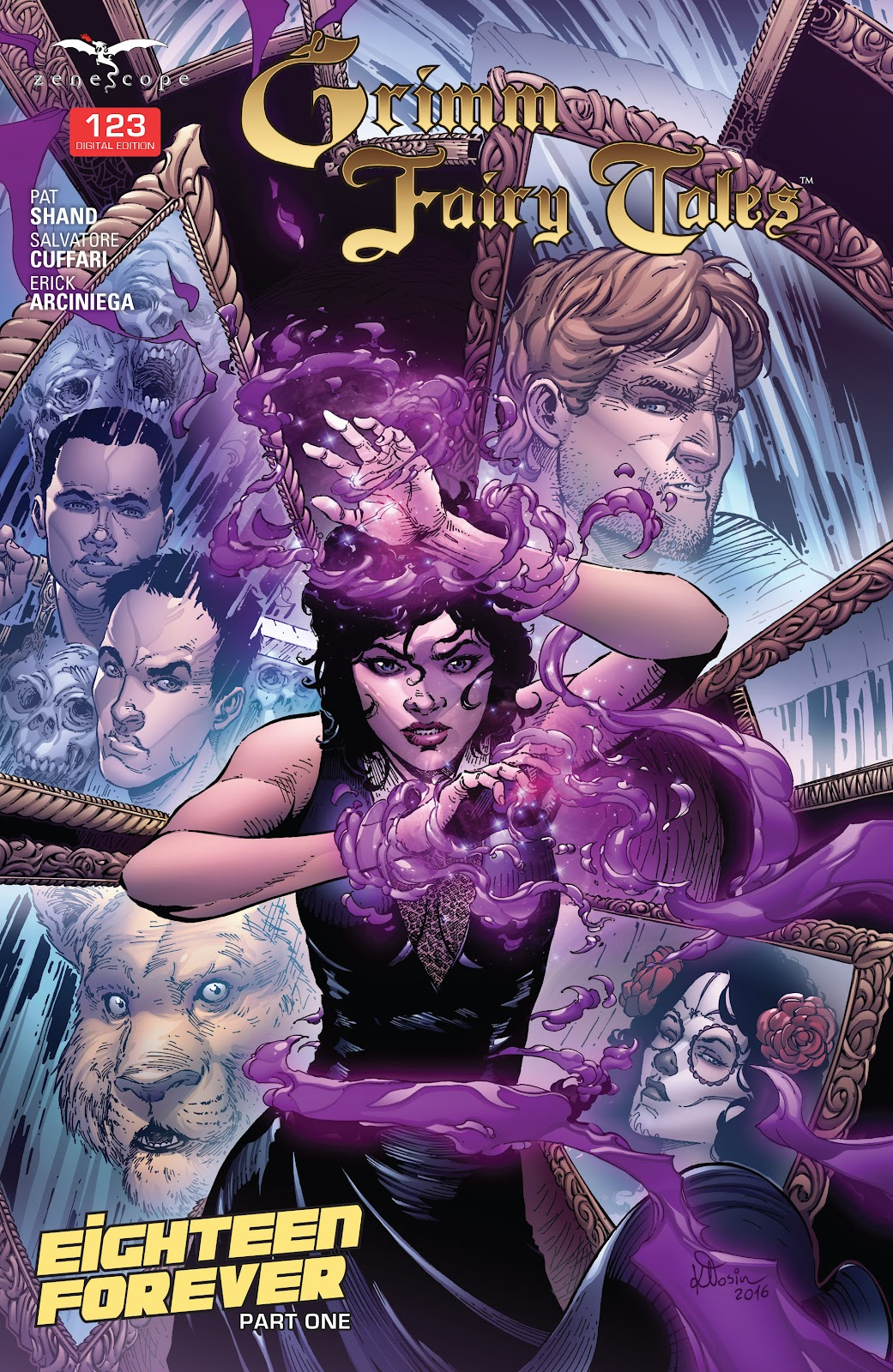 Grimm Fairy Tales (2005) Issue #123 #126 - English 1