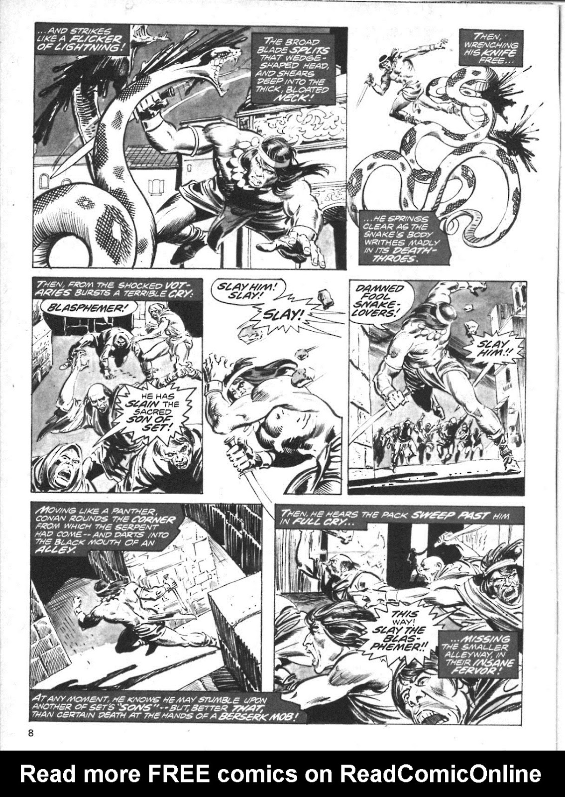 The Savage Sword Of Conan Issue #10 #11 - English 8