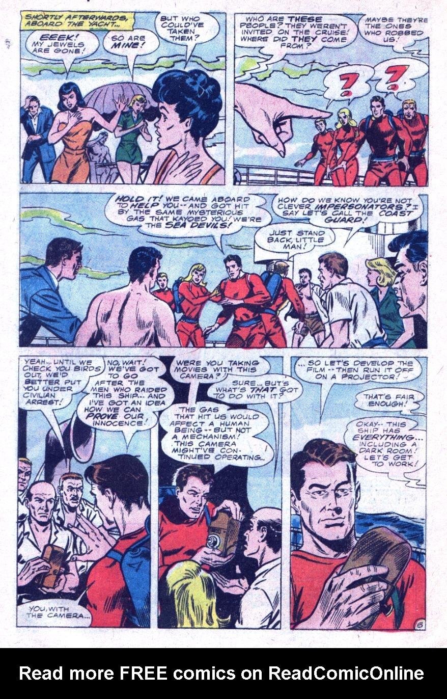 Read online Sea Devils comic -  Issue #33 - 9