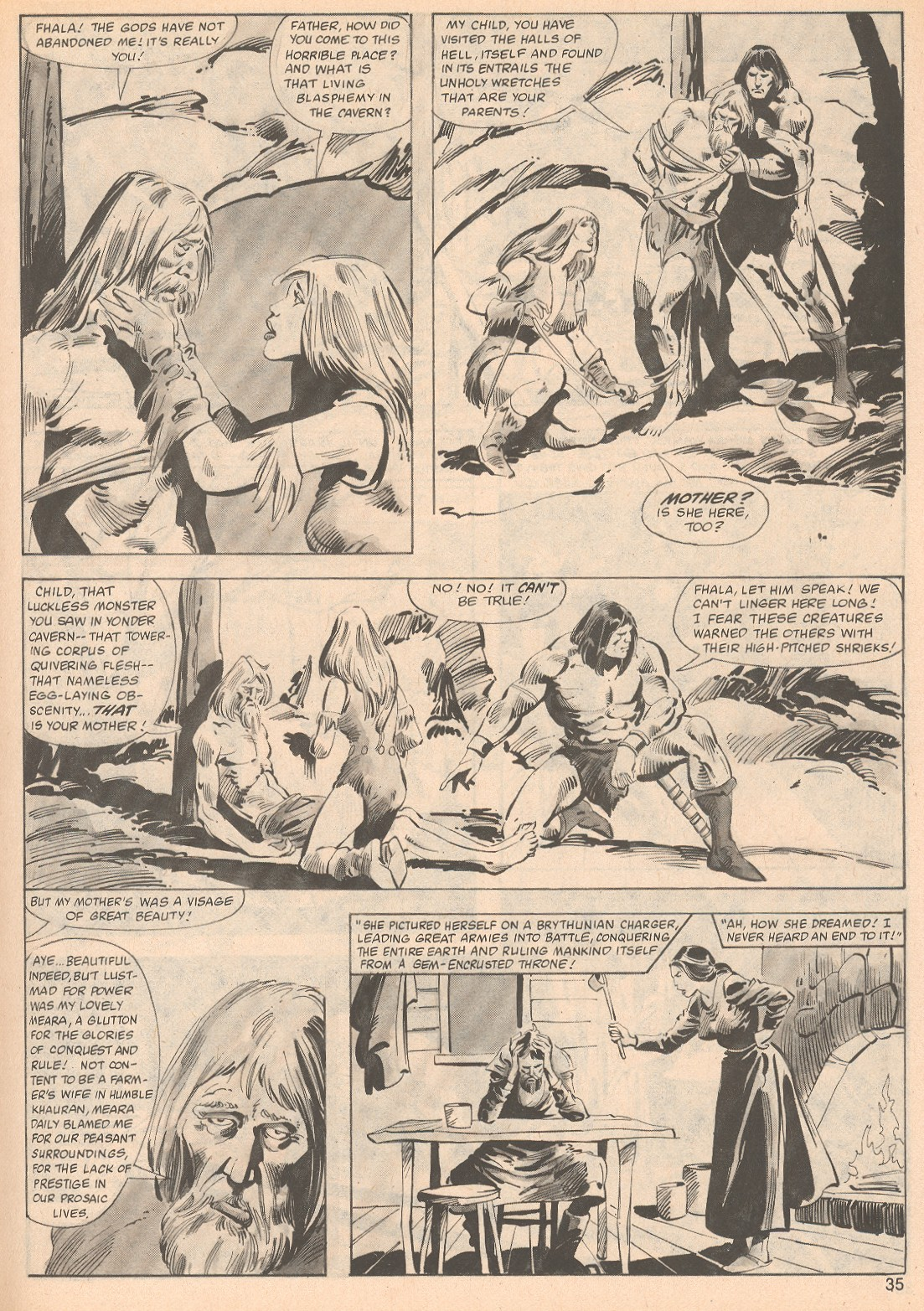The Savage Sword Of Conan Issue #70 #71 - English 35