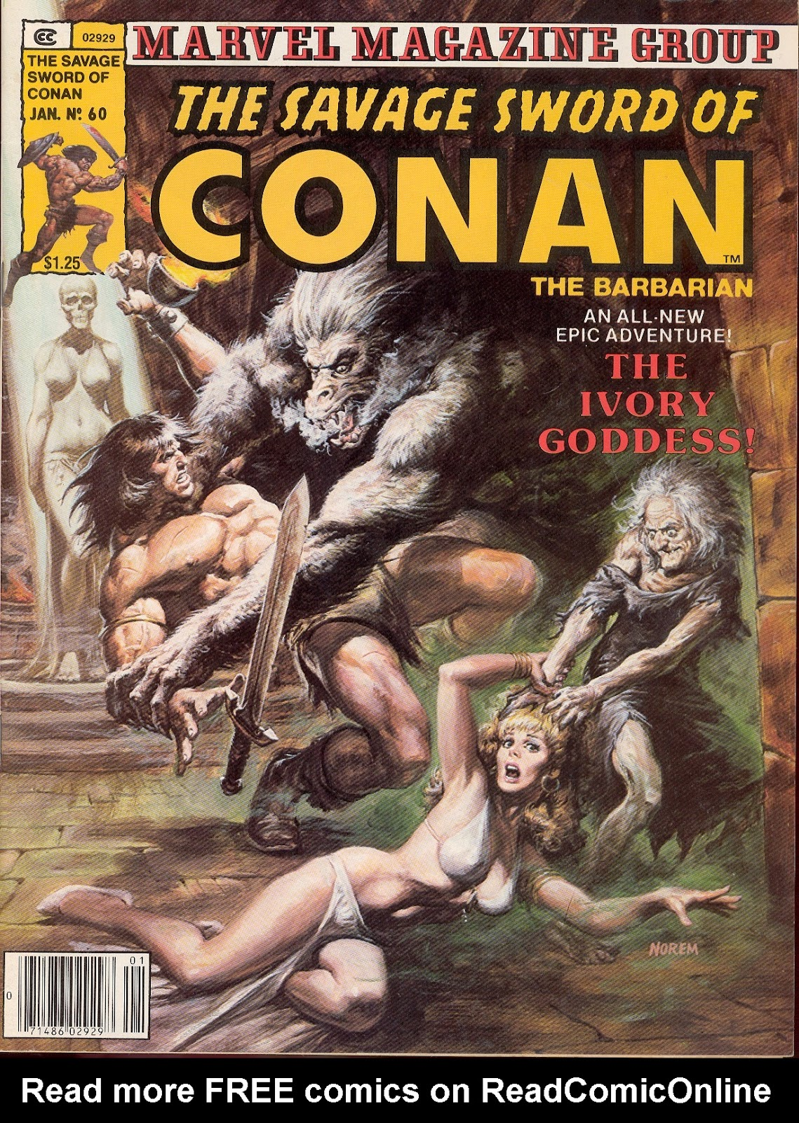 The Savage Sword Of Conan Issue #60 #61 - English 1