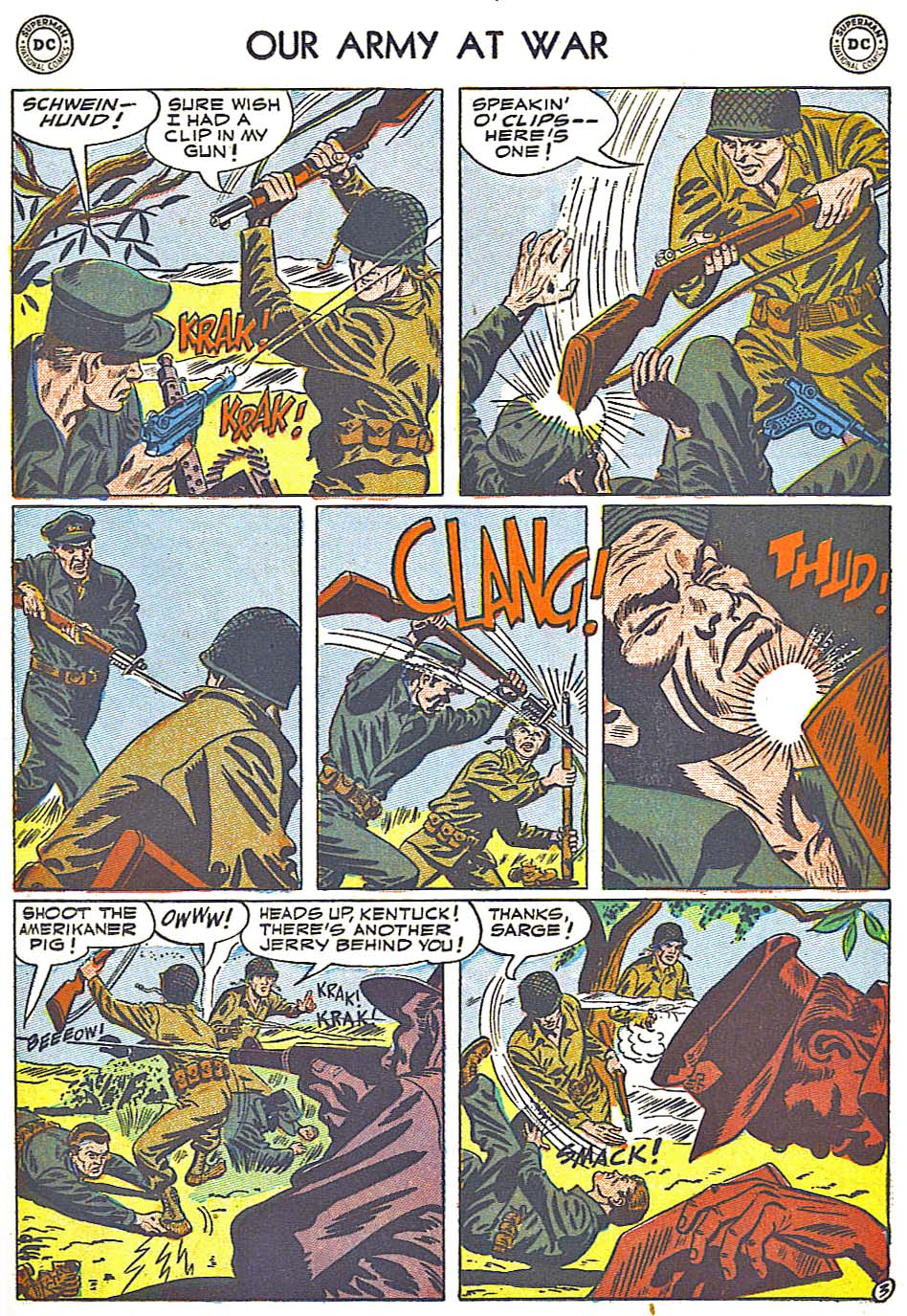 Our Army at War (1952) #1 #301 - English 23