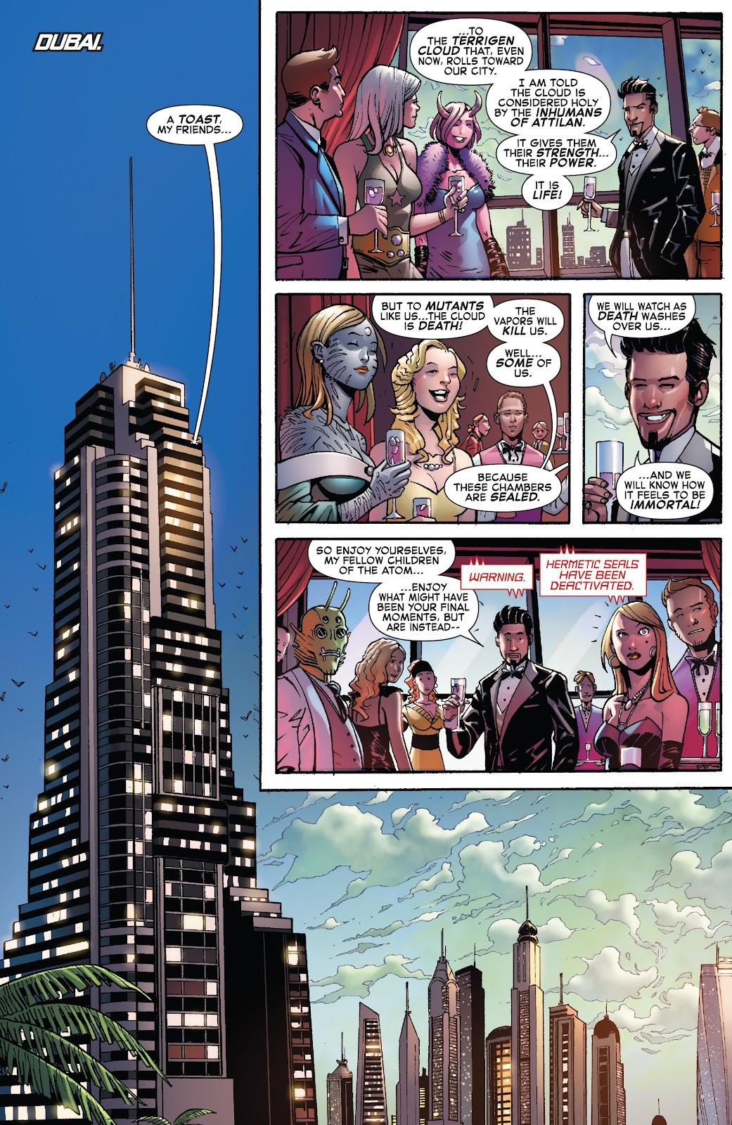Civil War II: X-Men Issue #1 #1 - English 7
