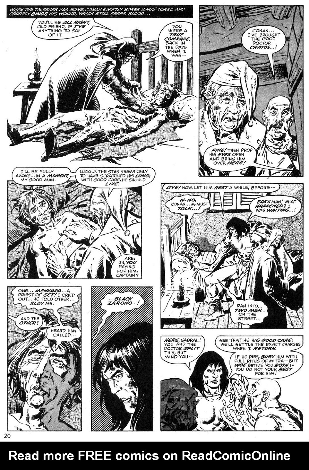 The Savage Sword Of Conan Issue #40 #41 - English 20