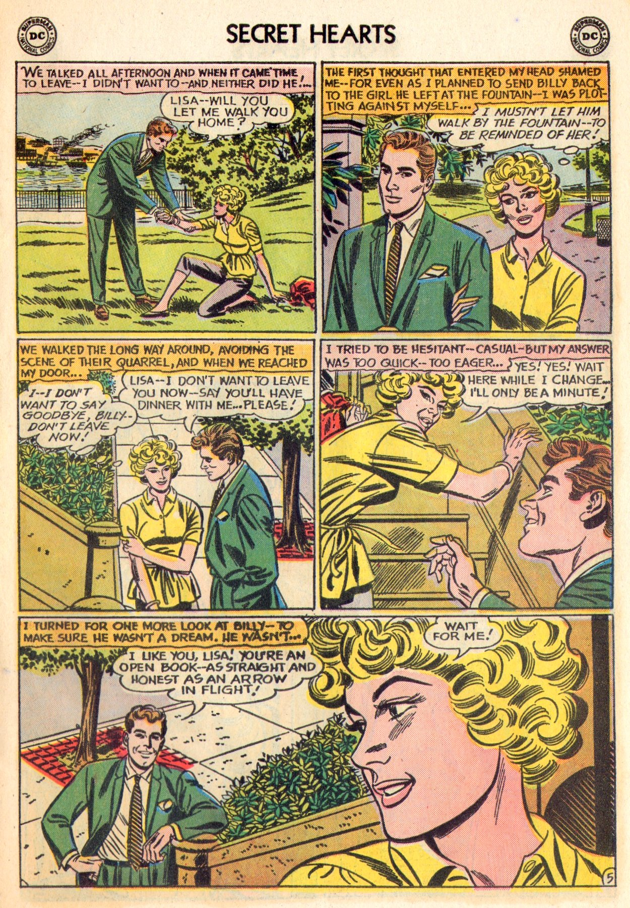 Read online Secret Hearts comic -  Issue #84 - 31