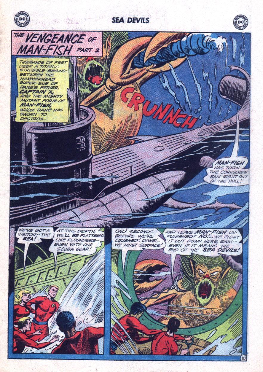 Read online Sea Devils comic -  Issue #24 - 16