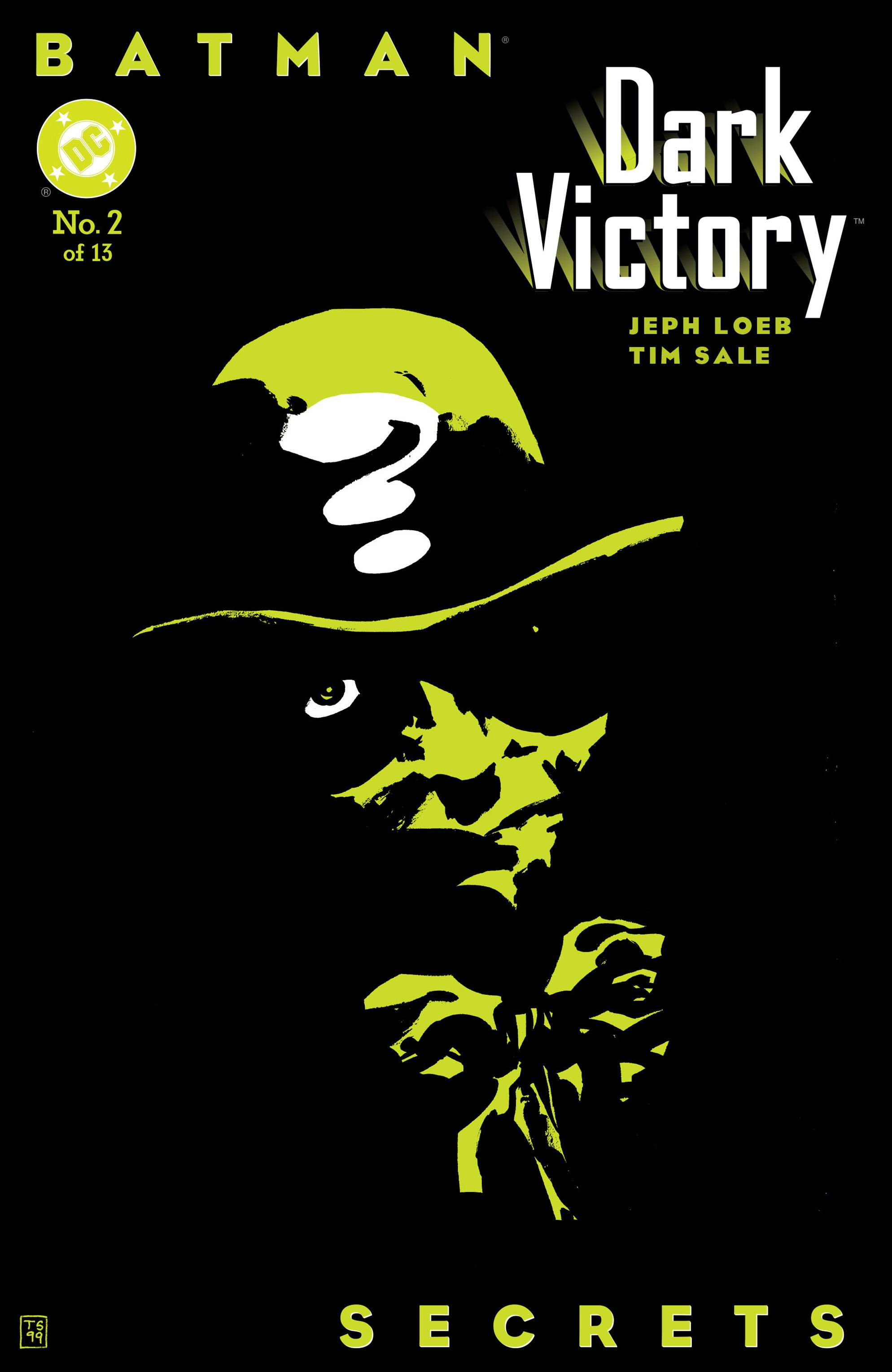 Batman: Dark Victory (1999) 2 Page 1