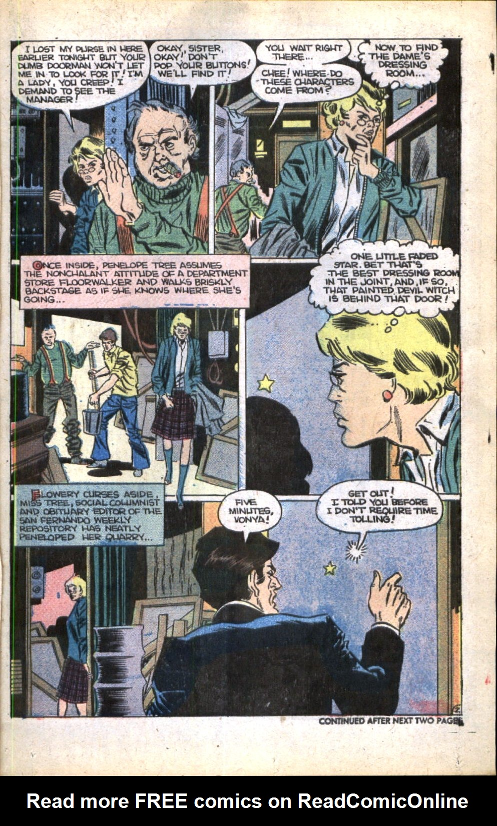Read online Scary Tales comic -  Issue #11 - 21