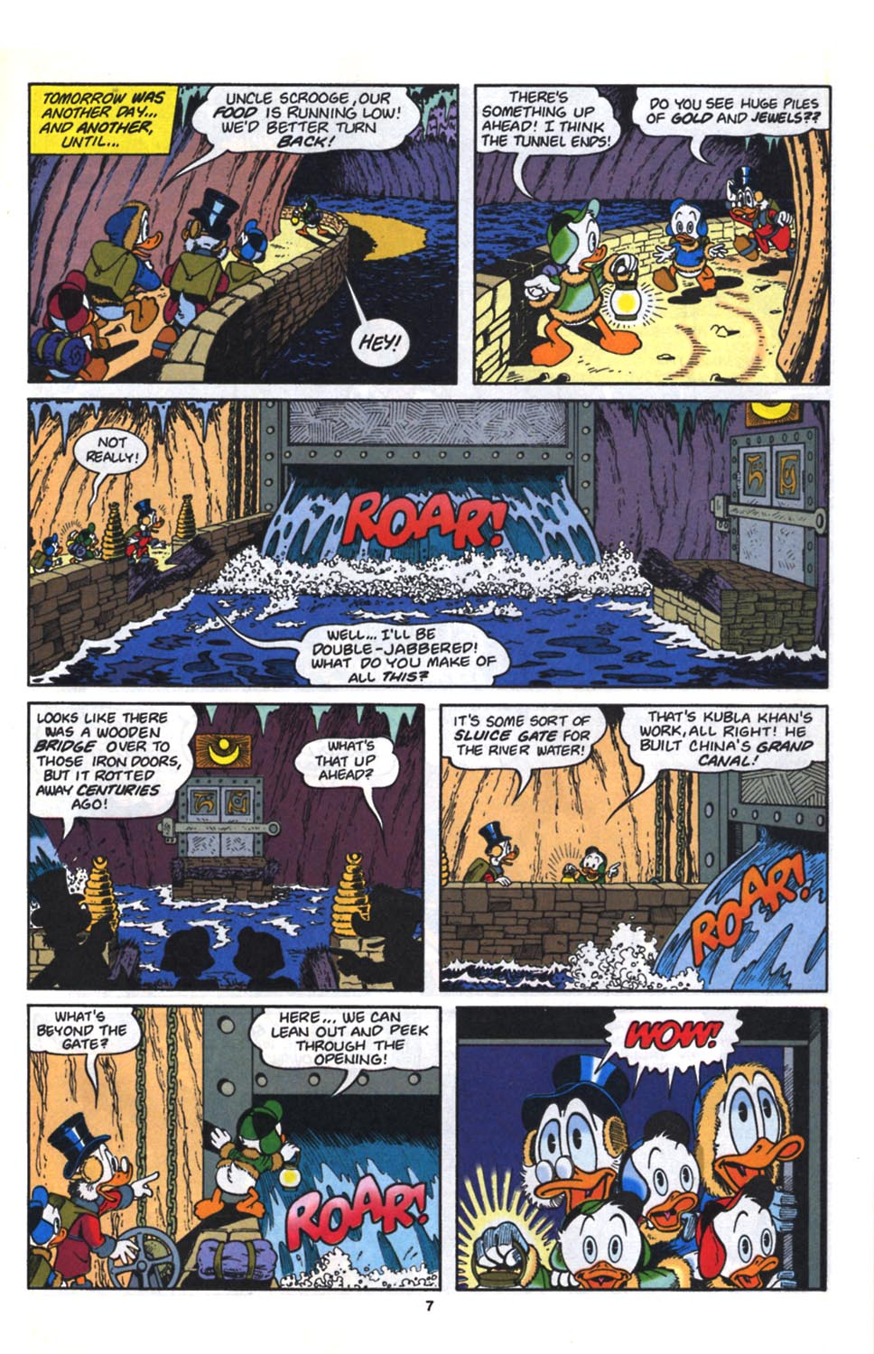 Uncle Scrooge (1953) Issue #261 #261 - English 8