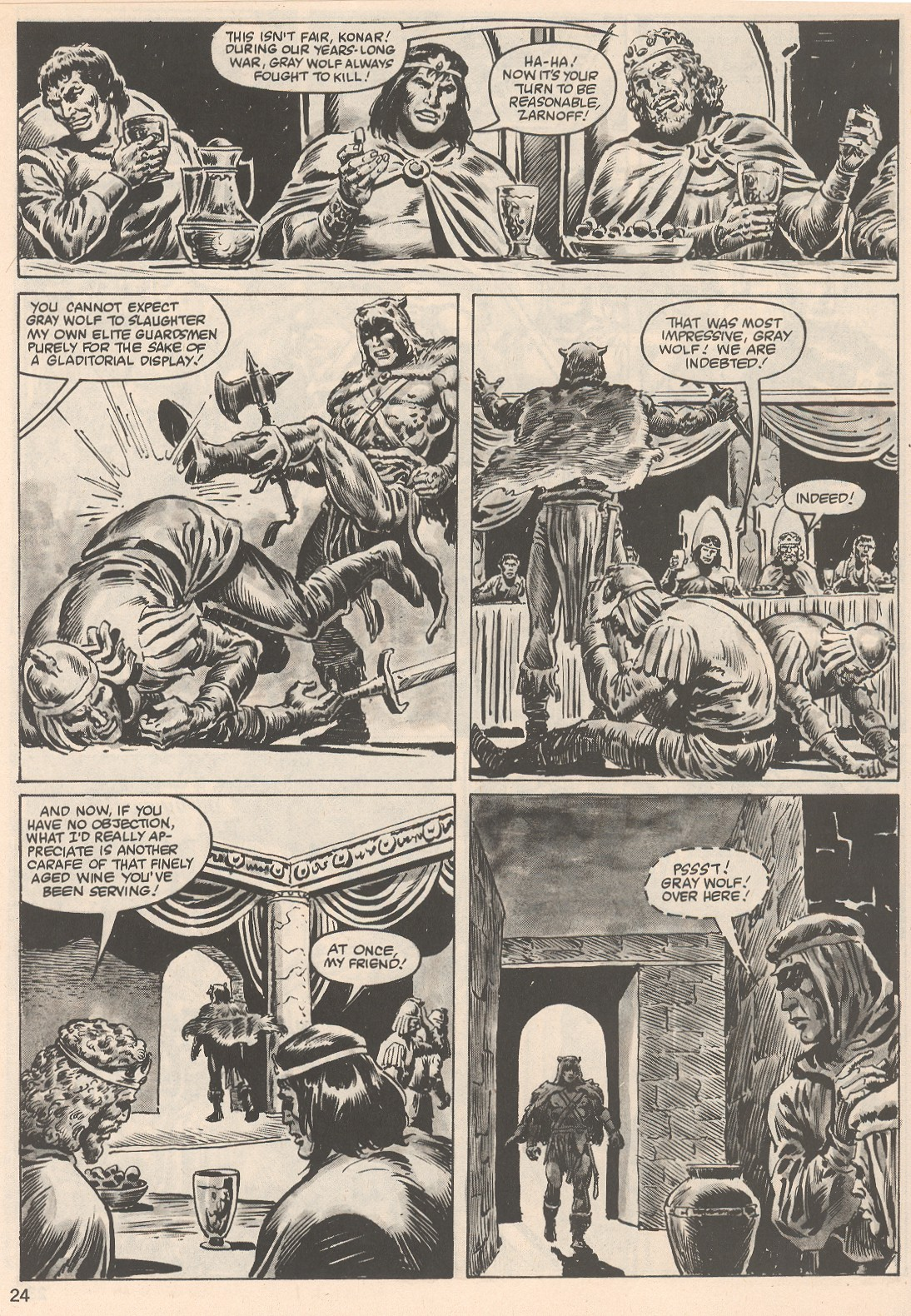 The Savage Sword Of Conan Issue #104 #105 - English 24