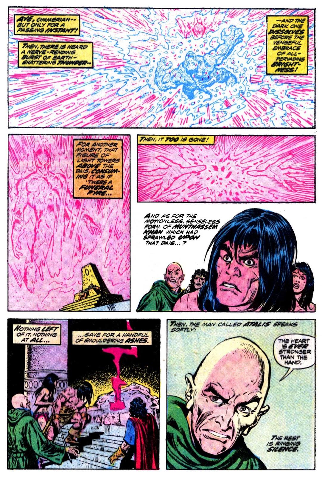 Conan the Barbarian (1970) Issue #30 #42 - English 19