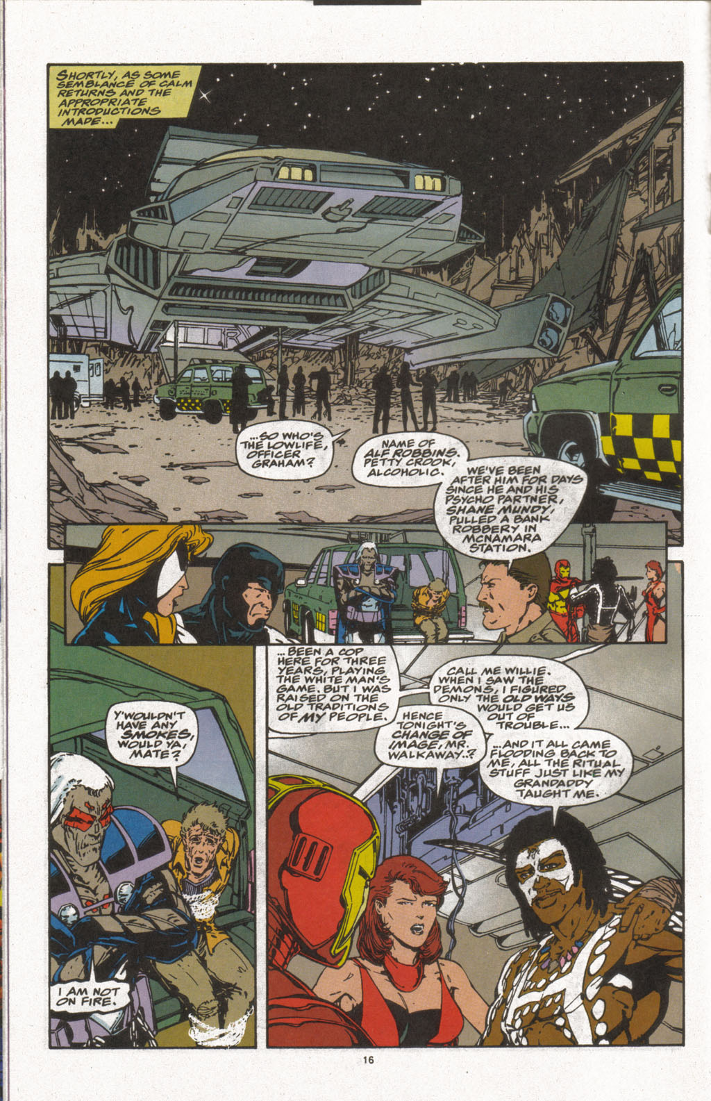 Force Works Issue #9 #9 - English 12